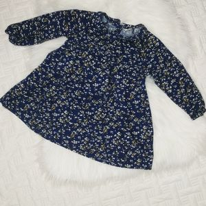 {Old Navy} Floral Dress with Collar